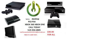 GET your ps3 or ps4 xbox360 xbox one  computer laptop