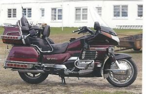 1989 Honda Goldwing Anniversary Addition