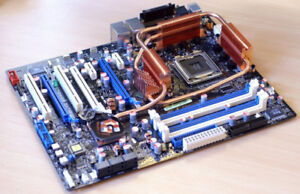 MOTHERBOARD ASUS ROG AVE C CPU EXTREME QX6800