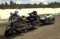 2008 Honda Goldwing and 2004 Bushtec Trailer pkg