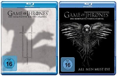 Game of Thrones Staffel 3+4 Blu-ray Set NEU OVP - 1