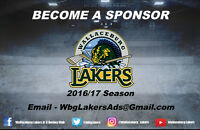 Wallaceburg Lakers Sponsors Wanted