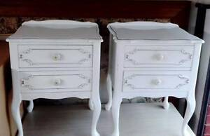 FRENCH TWO BEDSIDE TABLES $150 EACH Narre Warren South Casey Area Preview