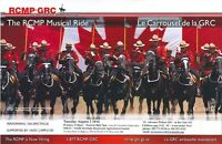 RCMP Musical Ride in Stonewall