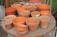 Pots Garden, Flowers Clay, various sizes