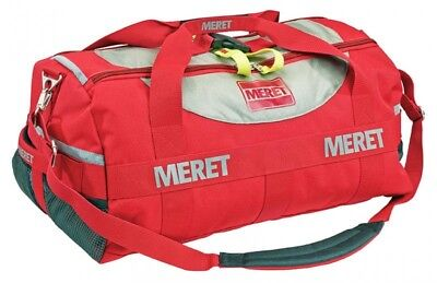 New Meret Tuff Stuff Medical Ems Emergency Duffel Bag - Red
