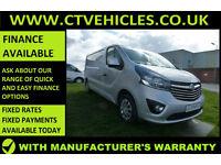 2015 65 Vauxhall Vivaro 1.6CDTi Sportive 2900 L2H1 A/C TOP SPEC, SAT/NAV