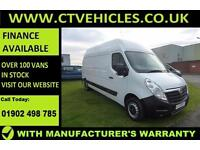 2016 66 Vauxhall Movano 2.3CDTI 125PS L3H3 F3500 Air conditioning A/C Extra hig