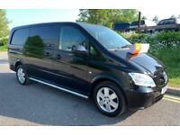 MERCEDES VITO 5 SEAT CREW CAB DUALINER SPORT LWB VAN 2.1CDi EURO 5 Long 116CDI