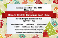 Beverly Heights 23rd Annual Christmas Craft Show