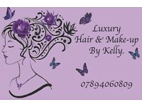 Luxury hair & make-up by Kelly