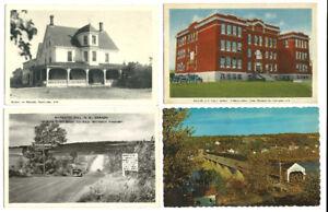 4 Cartes postales ~ Nouveau-Brunswick