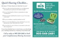 Hearing Instrument Services
