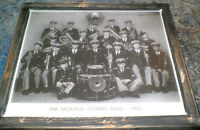 Sackville,NB - 1945 Sackville Citizens Band mounted pic