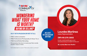 WONDERING WHAT YOUR HOME IS WORTH? BUYING OR SELLING?