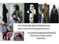 RTS Star Wars and Superheros NI