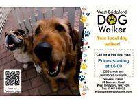 Dog Walker: West Bridgford-Edwalton-Gamston
