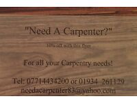 Need A Carpenter?