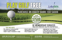 Play Golf FREE at Lakeside Golf Club