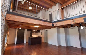 Luxury Old Port Loft Vieux Montreal 1500sqft