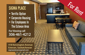 Estevan -Sigma Place-Fully Furnished + SUPER INCENTIVE.