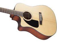 Fender L/H Acoustic Guitar CD-100 v2 Natural (Left Handed) NEW