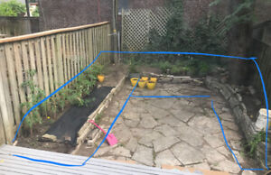 Free Top Soil and Landscaping Stacking Stone