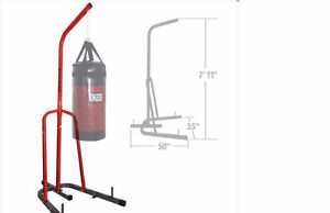Boxing Bag Stand and 2 Bags