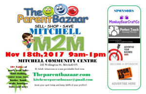 50+ table Mom2mom sale coming to Mitchell!