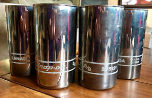 Rare Snap on Tools Silvered Drinking Glasses Promotional