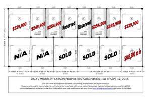 Infill lots available in Stratford, Ontario. Downtown Stratford,