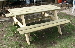 Rob's Woodcraft -  Picnic Tables