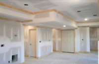Drywall, Paint, floors, trim, landscape