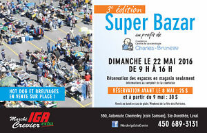 Super Bazar, Vente de garage