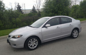 2008.5 Mazda 3. Very low mileage. One owner. Great condition