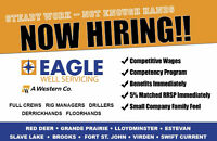 Now Hiring Experienced Workers and Full Crews!