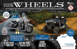 WIN a Harley Davidson Road King or a Polaris RZR 900 Trail