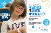 Kamloops Christian Preschool & Junior Kindergarten!