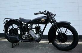 OK Supreme 1930 Vintage 500cc - Extremely rare and original JAP engine