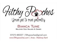 Filthy Pooches Dog Walking Services