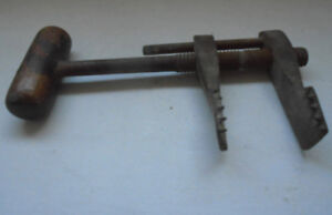 Antique Collectable Vintage Hand Tools Clamp Vice Shears