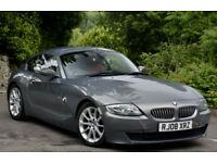 BMW Z4 3.0 SI COUPE 2008 Auto Automatic. Grey.