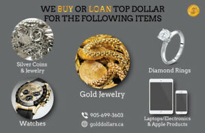 CASH FOR GOLD, SILVER, DIAMONDS, WATCHES, ELECTRONICS