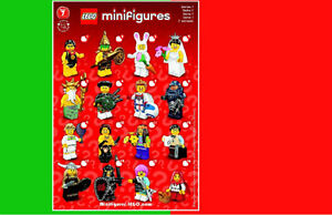 LEGO SÉRIE 7 COLLECTION MINI-FIGURINE 8831 VOIR NOTRE VIDEO
