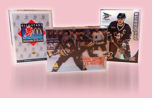 3 complete sets of McDonald's Hockey cards