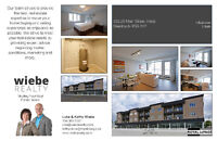 New Condo in Steinbach, Optional Rent To Own!
