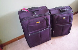 Two Piece Luggage Set