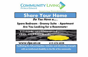 Home Providers needed in Prince Edward County