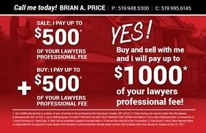 $500 toward your closing cost!