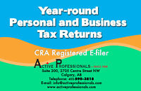 Year Around Income Tax Services - CRA Approved Efiler